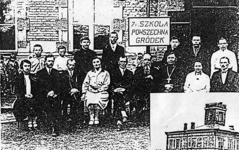 Перший випуск городоцької школи